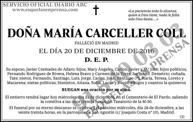 María Carceller Coll